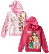 Disney Disney's Rapunzel, Belle & Ariel Girls 4-6x Hoodie Set