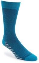 Ted Baker Microcheck Organic Cotton Blend Socks