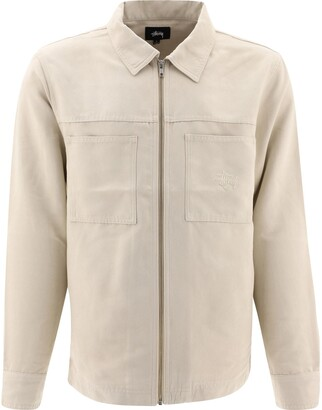 Stussy Micro Suede Overshirt