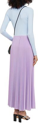 M Missoni Plisse Metallic Crochet-knit Maxi Skirt