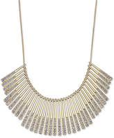 INC International Concepts Gold-Tone Pavé Statement Necklace, Created for Macy's