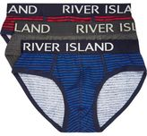 River Island Mixed Briefs Multipack