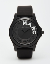 Marc By Marc Jacobs Sloane Silicone Strap Watch Mbm4025 - Black