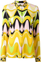 Emilio Pucci triangle printed shirt