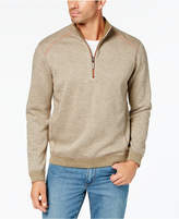 Tommy Bahama Men's Flipsider Half-Zip Pima Cotton Sweater