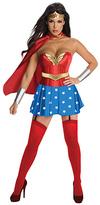 Rubie's Costume Co Wonder Woman High-Waist Caped Costume Set - Women