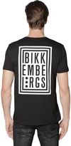 Bikkembergs Logo Printed Cotton Jersey T-Shirt