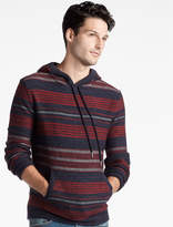 Lucky Brand Heritage Striped Hooded Sweater