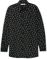 Givenchy - Columbian-fit Floral-print Silk Shirt