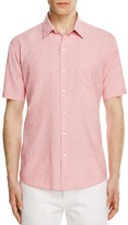 Zachary Prell Cooperman Regular Fit Micro Stripe Button Down Shirt