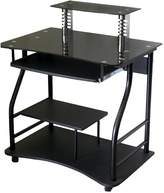 Kohl's Wheeled Computer Cart with Glass Table