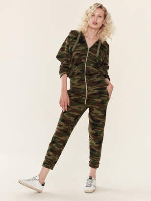 NSF Stasia French Terry Zip Sweat Jumpsuit