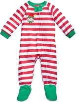 Family Pajamas 1-Pc Elfing Around Footed Pajamas, Baby Boys' or Baby Girls' (12-24 months) & Toddler Boys' or Toddler Girls' (2T-3T) Created for Macy's