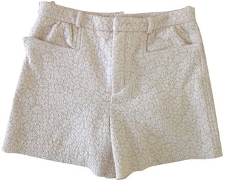Chloé White Cloth Shorts for Women