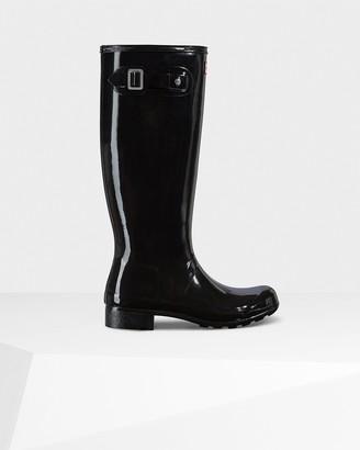 Hunter Women's Original Tour Foldable Gloss Tall Wellington Boots