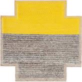 Gandia Blasco Mangas Space Plait Square Yellow Rug 260x260