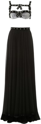 Philosophy di Lorenzo Serafini Long Dress With Swarovski Crystals