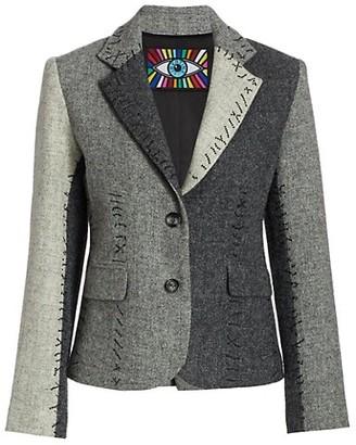 Libertine Colorblock Wool Jacket