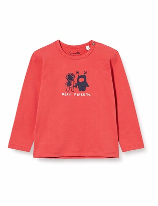 Sanetta Boys Pepperoni red Baby and Toddler T-Shirt Set 18-24 Months