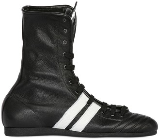 Leone 1947 Leather Boxing Boots
