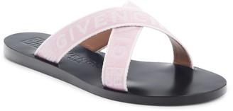Givenchy 4G Crisscross Slide Sandal