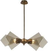 Heathfield & Co Lorne Pendant Lamp Medium Smoke