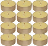 Asstd National Brand Extra Large Citronella Tea Light Candles (Set of 12)