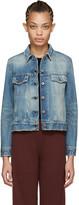 Simon Miller Blue Denim Teda Jacket