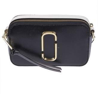 Marc Jacobs Snapshot Detachable Strap Logo Shoulder Bag