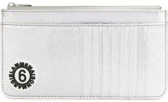 MM6 MAISON MARGIELA logo zip purse