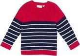 Jo-Jo JoJo Maman Bebe Breton Sweater (Baby) - Red/Navy Stripe-12-18 Months