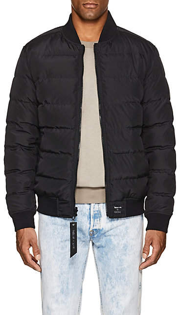 3affd6220 NBALab x The Very Warm XO NBALAB X THE VERY WARM XO MEN'S REVERSIBLE  QUILTED BOMBER JACKET