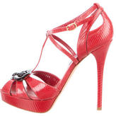 Ralph Lauren Lizard Jecelyn Sandals