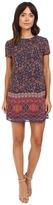 Brigitte Bailey Jaz Cap Sleeve Printed Dress