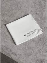 Burberry Cotton Silk Pocket Square, Black
