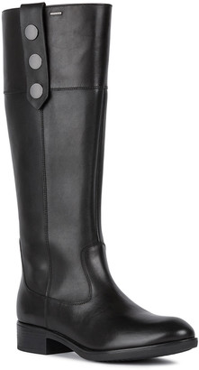 Geox Felicity Leather Tall Boots
