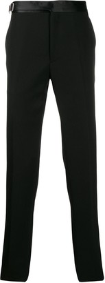 Alexander McQueen harness strap tailored trousers