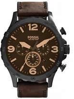 Fossil Mens Nate Oversized Chronograph JR1487