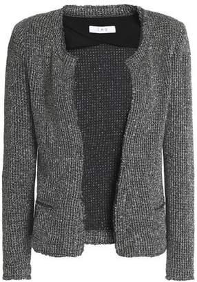 IRO Wallice Metallic Boucle-knit Jacket