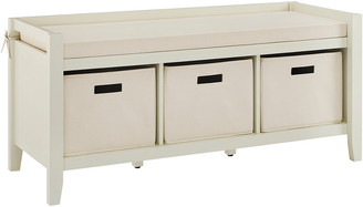 Linon Luray Cream Entryway Bench