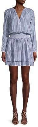 Rails Striped Long Sleeves Dress