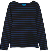 MiH Jeans Mariniere Striped Cotton-jersey Top - Indigo