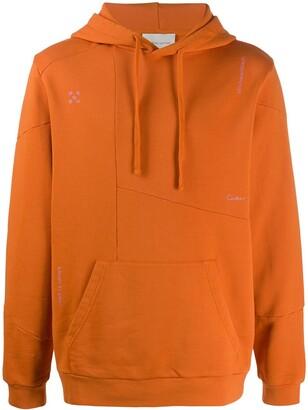 RetroSuperFuture x DC deconstructed hoodie