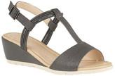 Lotus Shoes Kiera Open-Toe Wedge Sandals
