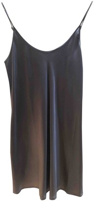 La Perla Metallic Silk Dresses