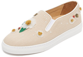 Charlotte Olympia Floral Alex Slip On Sneakers