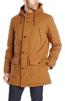 Pendleton Men's Ballard Tri-Blend Washed Cotton Anorak, Khaki