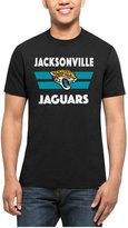 '47 Men's Jacksonville Jaguars Two Bar Splitter T-Shirt