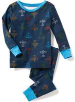 Old Navy Jet-Planes Print Sleep Sets for Toddler & Baby