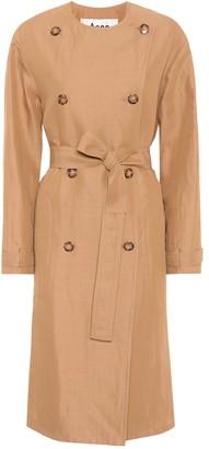 Acne Studios Anghelica gabardine trench coat